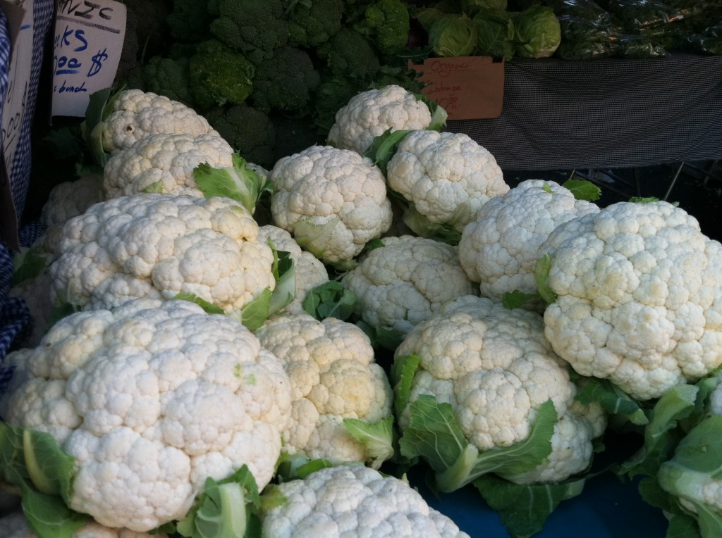 Farmer's Market Cauliflower